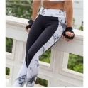 'All Daisy Long' Sublimated Supplex Gym Leggings