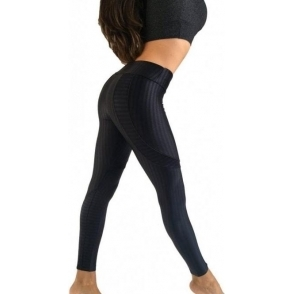 BACK IN STOCK! 'Coco Noir' Subtle Print Day To Night Fitness Leggings