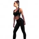 BACK IN STOCK! 'Coco Noir' Subtle Print Gym Leggings