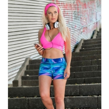 'Beach Bum' Supplex Gym Shorts Pole Shorts