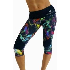 """Bebop"" Supplex Print Gym Leggings"