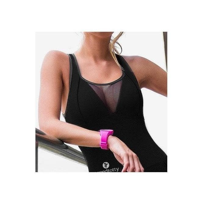 Black 'All The Single Ladies' Fitness Supplex Jumpsuit