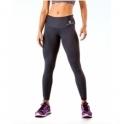 Black Lycra Sport 'Suave' Running Tights