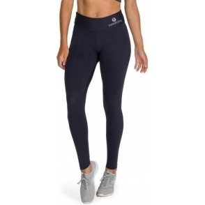 Black Lycra Sport 'Suave' Running Tights