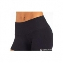 'Black Out' Supplex Gym Shorts Hot Pants