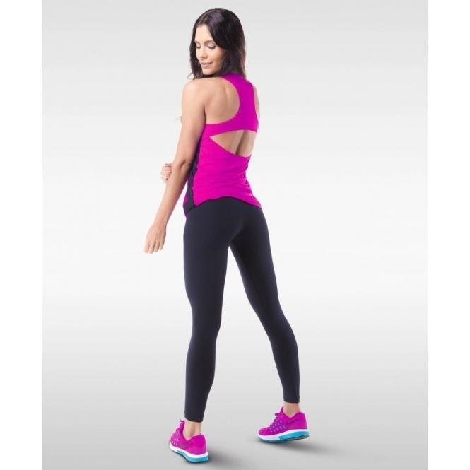 Black 'Totty' Supplex Gym Leggings