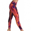 'Blaze' Cire Waxed Fitness Leggings