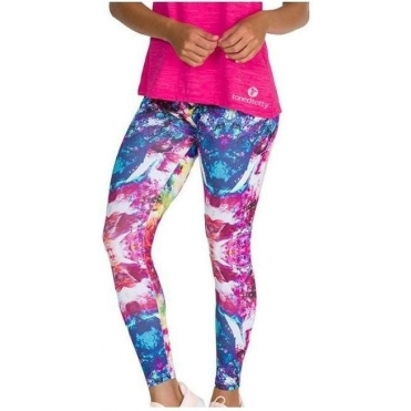 'Brighter Than The Sun' Print Light Fitness Leggings