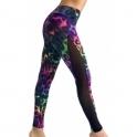 """""""Carnival Of Colour"""" Light Gym Leggings"""
