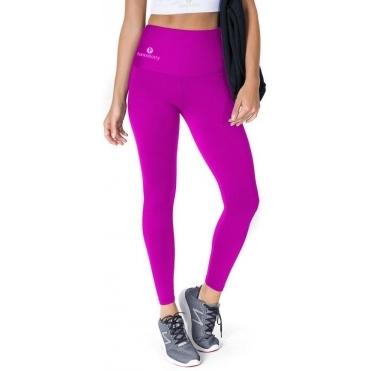 Cerise High Waisted Lycra Sport Fitness Leggings
