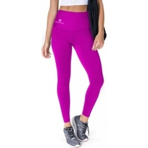 Cerise High Waisted Lycra Sport Leggings