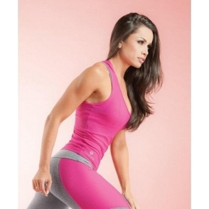 'Cheeky' Soft Mesh Fitness Sports Top