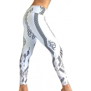 'Chillout'' Luxury White Fashion Leggings