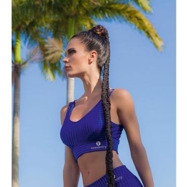 'Coco Blue' Sports Bra top