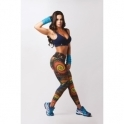 'Como' Funky Print Supplex Fitness Leggings
