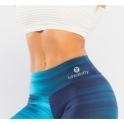 Coolio Blue Tone Gym Leggings Tall Long Leg