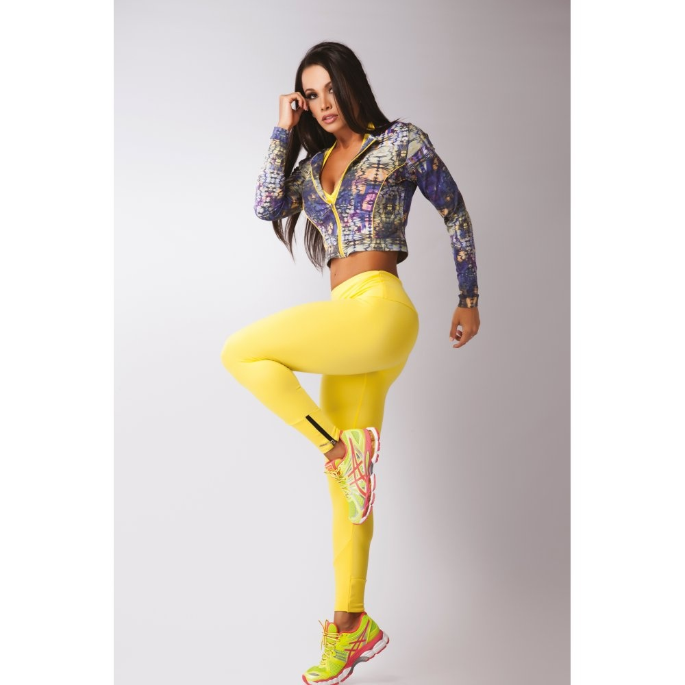Ladies fitness fashion sports jacket leisure or gym for Lady fitness