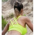 Cosmopolitan Neon Supplex Fitness Sports Bra