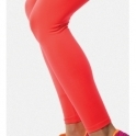 'Cute As A Button' Neon Coral Supplex Fitness Leggings