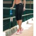 'Day to Day' Black Light Supplex Capri Fitness Leggings