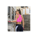Deluxe 'Guilty Pleasure' Sports Bra Neon Pink