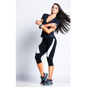 'Dynamic' Supplex High Waist Fitness Leggings