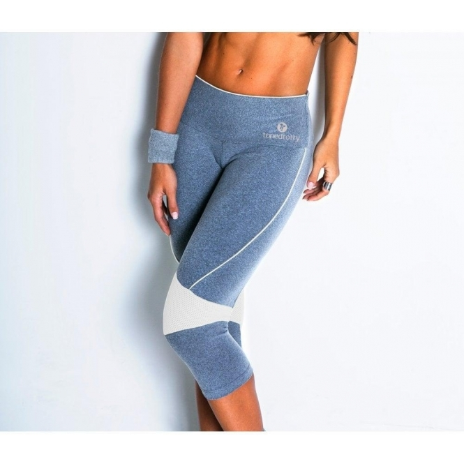 'Estrela' Butt Lift Capri Fitness Leggings