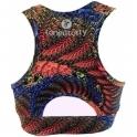 'Eye Candy' Print Supplex Fitness Crop Bra 4 Colours