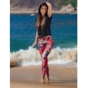 'Fashion My Passion' Print Supplex Fitness Leggings