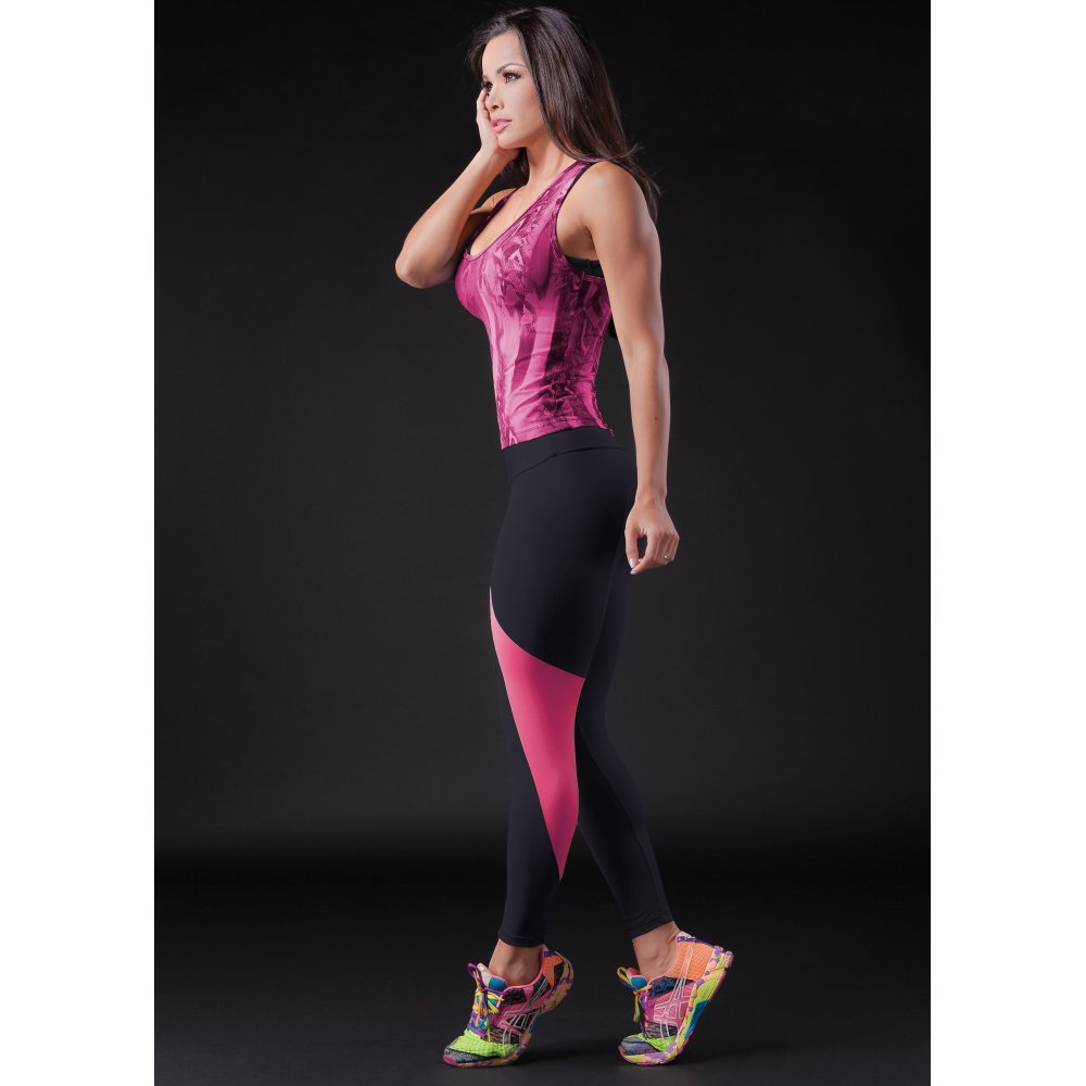 Ladies fitness leggings suitable for running yoga for Lady fitness