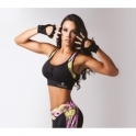 Flirty 'Wild Thing' Fitness Crop Top