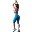 'Foxy' Subtle Print Gym Capri Leggings