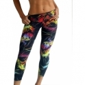 'Free Spirit' Supplex Print Fitness Leggings