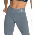 Grey Mescla Supplex Fitness Leggings