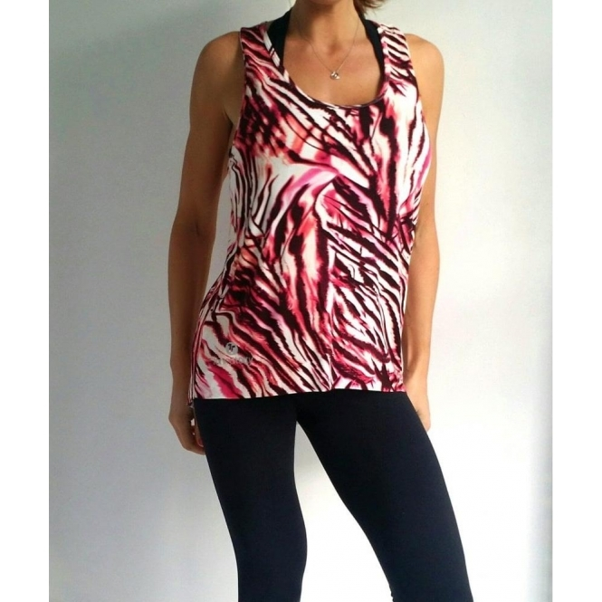 'Gym 2 Glam' Viscolycra Fitness Fashion Top