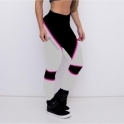 'Gym Doll' Emana White Fitness Leggings