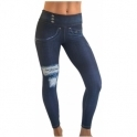 'Gym-ericano' Jean Style Butt Lifting Gym Leggings