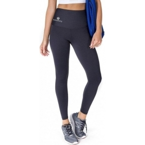 High Waisted Black Lycra Sport Leggings