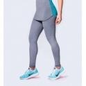 High Waisted Grey Light 'Suave 2' Fitness Leggings