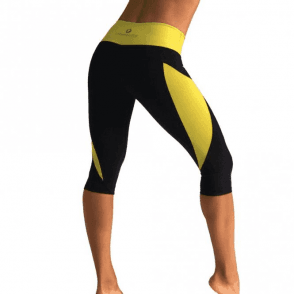'Hoola' Light Supplex Fitness Capri Leggings