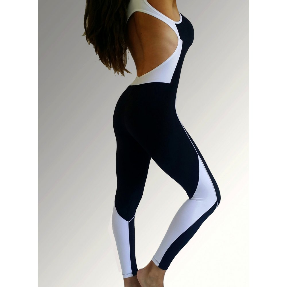 brazilian supplex fitness jumpsuit all in one gym leggings. Black Bedroom Furniture Sets. Home Design Ideas
