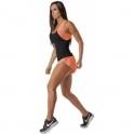 Hot-To-Trot' Fitness Shorts Orange
