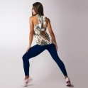 'In The Navy' Luxury Supplex Fitness Leggings