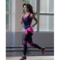 'Inky Pink' Fitness All-In-One Jumpsuit