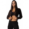 'It Girl' Black/White Fitness Jacket