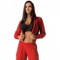 'It Girl' Sports Fitness Jacket Red