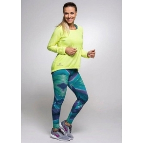 'Jazzies' Light Supplex Print Gym Leggings