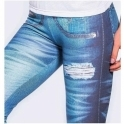 """Jeany-Choos 2"" Jean Style Butt Lifting Gym Leggings"
