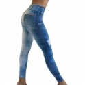 """Jeany-Choos"" Jean Style Butt Lifting Gym Leggings"