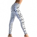 'Jet' Luxury White Fashion Leggings
